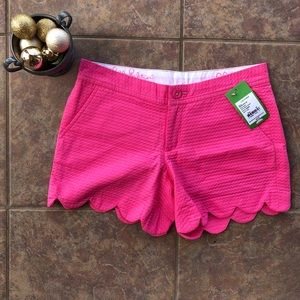 NWT Lilly Pulitzer Hotty Pink Buttercup Shorts 00